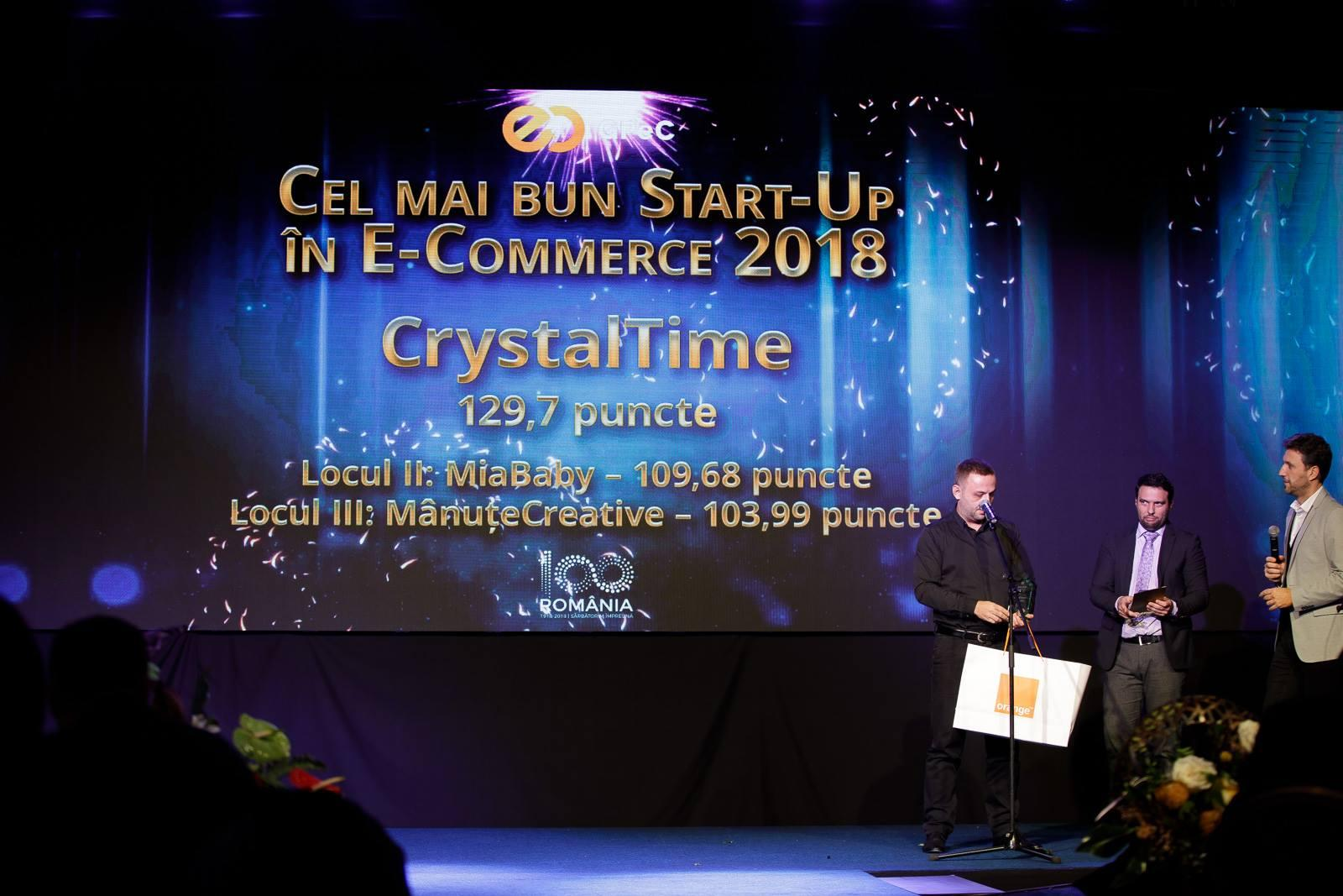 CrystalTime la GPEC- Cel mai bun start-up in 2018