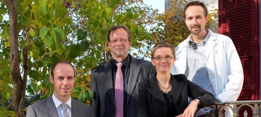 Jean-Sébastien, Denis, Adeline si Fred-Eric BOLZLI