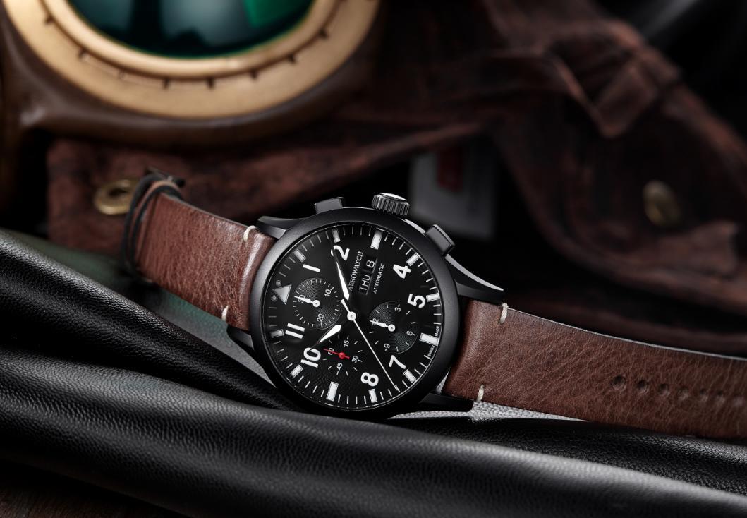 Ceas Aerowatch Chronograph Pilote 61968 NO03