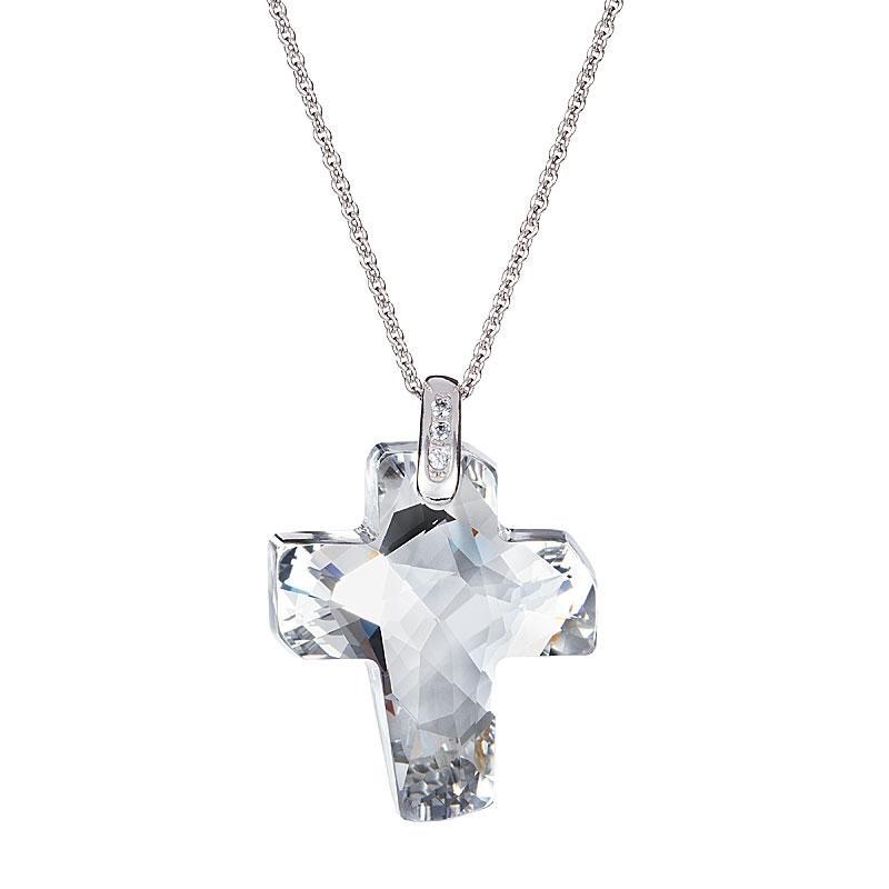 Chance - Colier de argint Preciosa (Crystal)