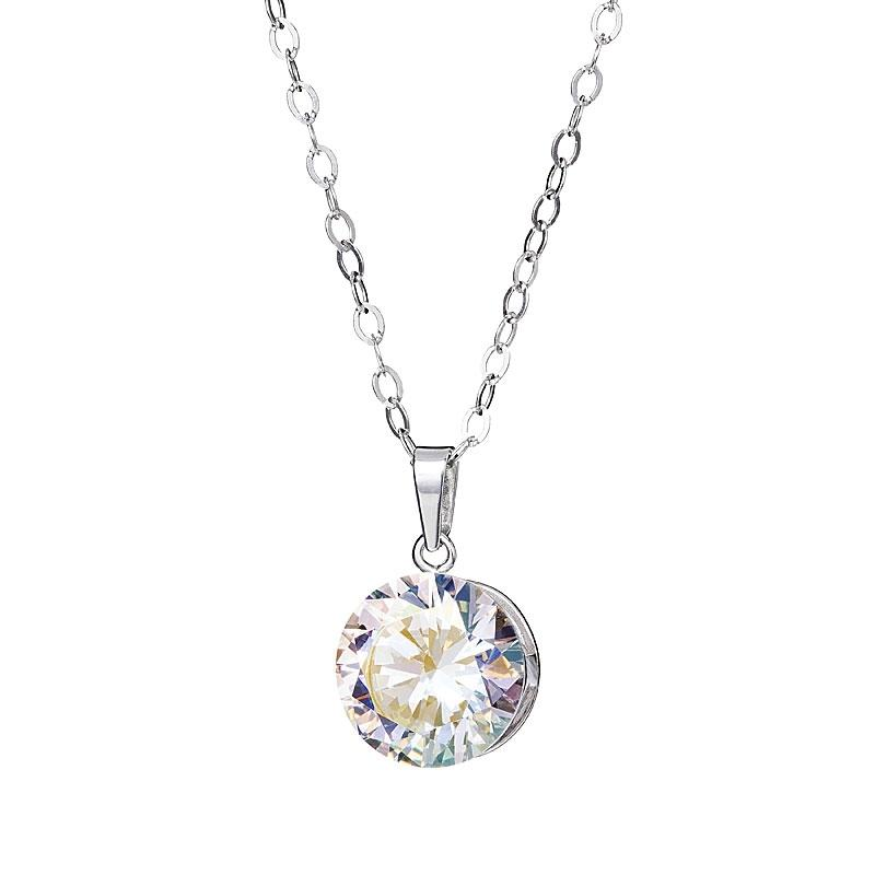 Starry - Colier de argint Preciosa (Crystal AB)