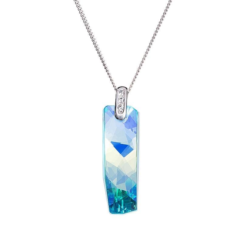 Melody of Nature - Colier de argint Preciosa (Aqua)
