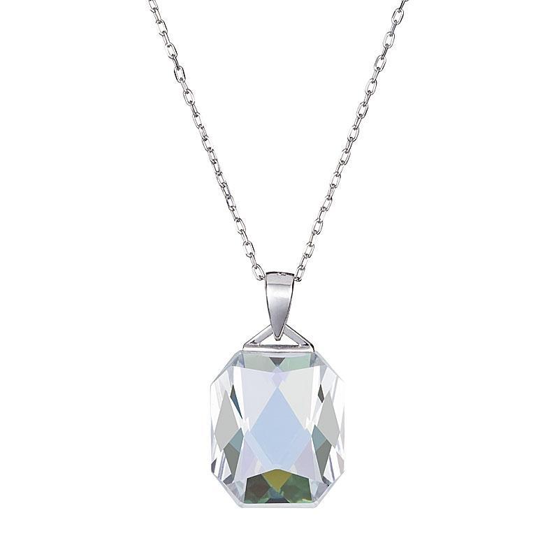 Icy Splendour - Colier de argint Preciosa (Crystal AB)