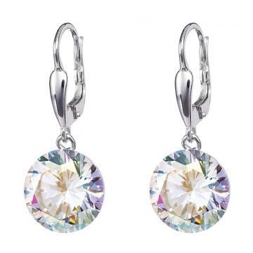 Starry - Cercei de argint Preciosa (Crystal AB)