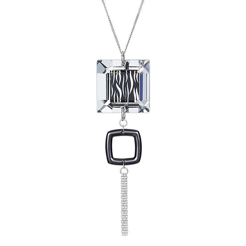 Libre - Colier de argint Preciosa (Black)