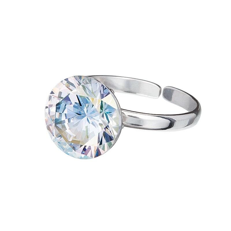 Starry - Inel de argint Preciosa (Crystal AB)