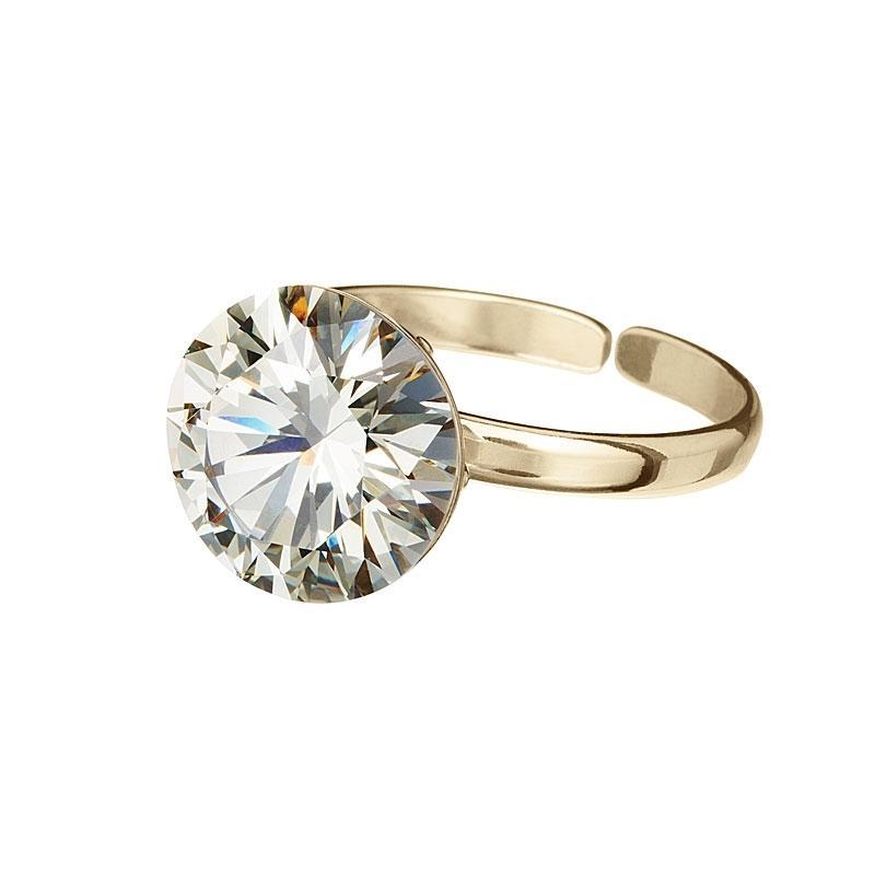 Starry -  Inel de argint Preciosa (Blond Flare)
