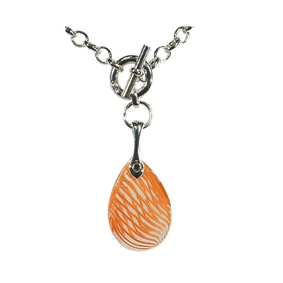 Mystere - Colier Preciosa (Orange Stripes)