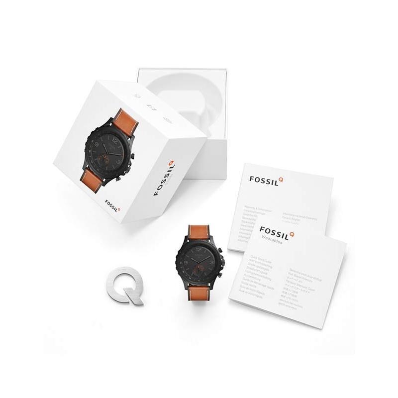Ceas Fossil Hybrid Smartwatch Q Nate FTW1114