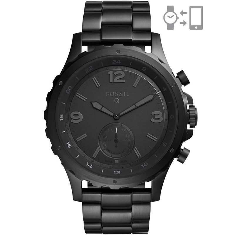 Ceas Fossil Hybrid Smartwatch Q Nate FTW1115