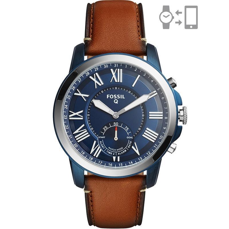 Ceas Fossil Hybrid Smartwatch Q Grant FTW1147