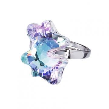 Magic Butterfly - Inel de argint Preciosa (Vitrail Light)