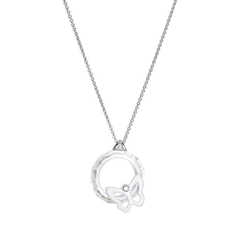 Subtle Beauty - Colier de argint Preciosa (Crystal AB)