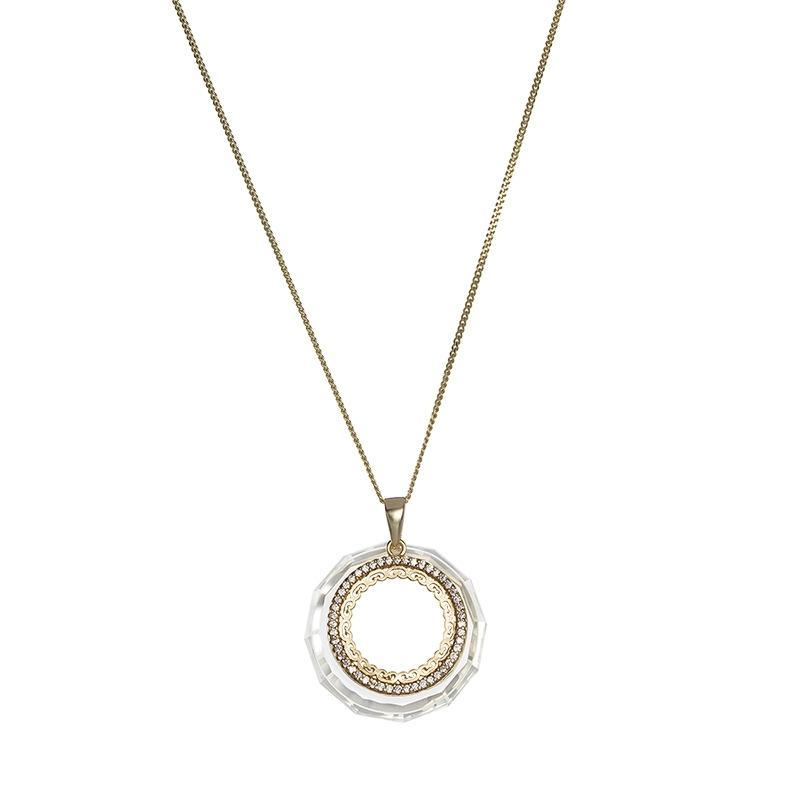 Spectaular - Colier de argint Preciosa (Blond Flare)