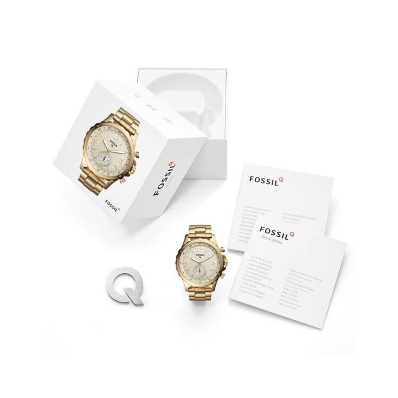 Ceas Fossil Hybrid Smartwatch Q Nate FTW1142