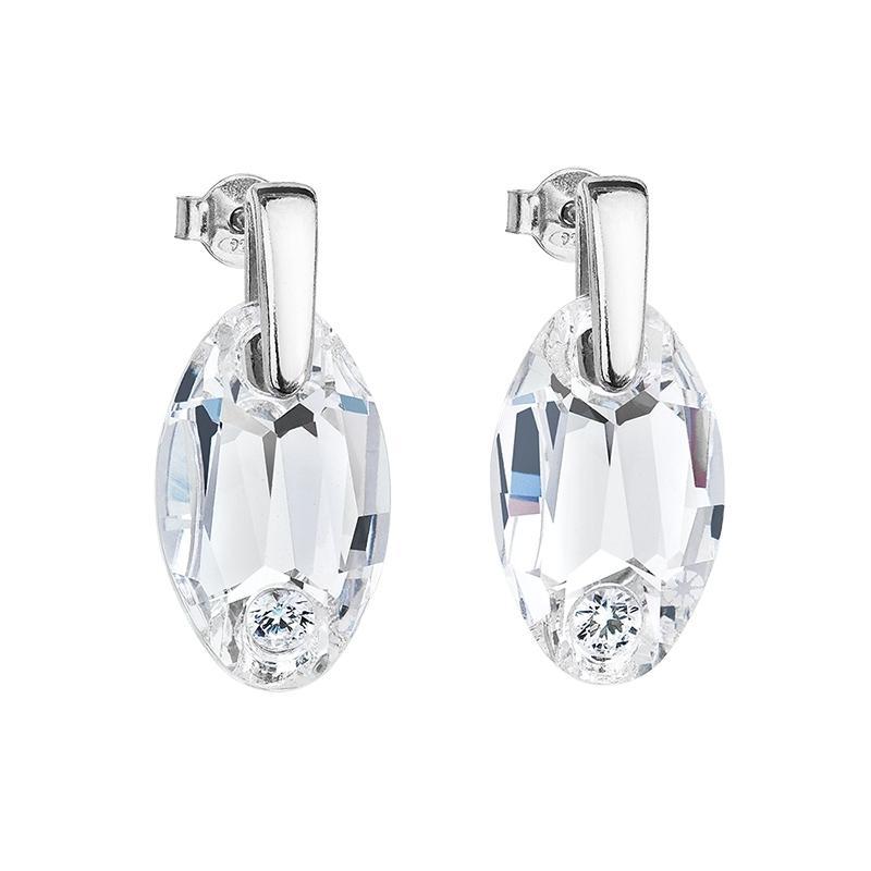 Elegancy - Cercei de argint Preciosa (Crystal)