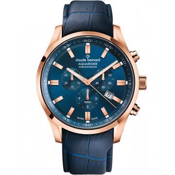 Ceas Claude Bernard Aquarider Chronograph 10222 37RC BUIR1