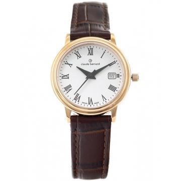 Ceas Claude Bernard Classic Ladies Date 54005 37R BR