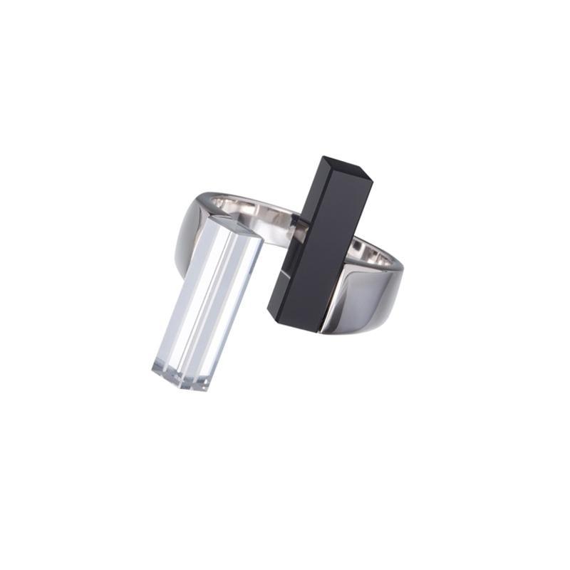 Fresh Style - Inel de argint Preciosa (Crystal)