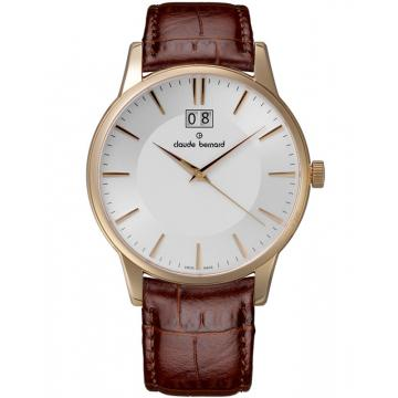 Ceas Claude Bernard Classic Gents Big Date 63003 37R AIR