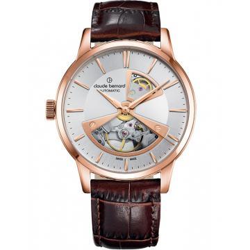 Ceas Claude Bernard Classic Automatic Open Heart 85017 37R AIR2