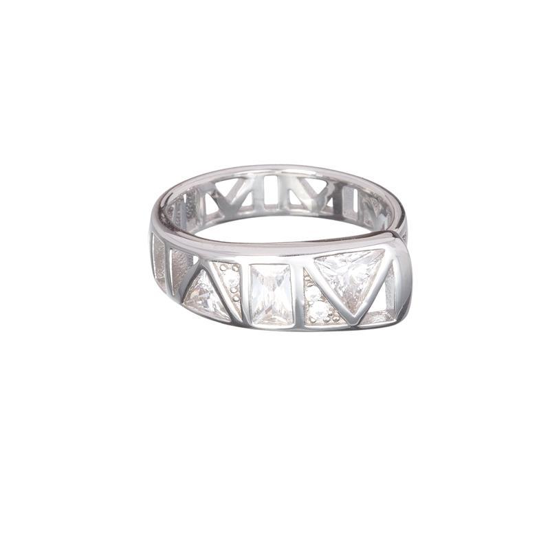 Gentle Inspiration - Inel de argint Preciosa (Crystal)
