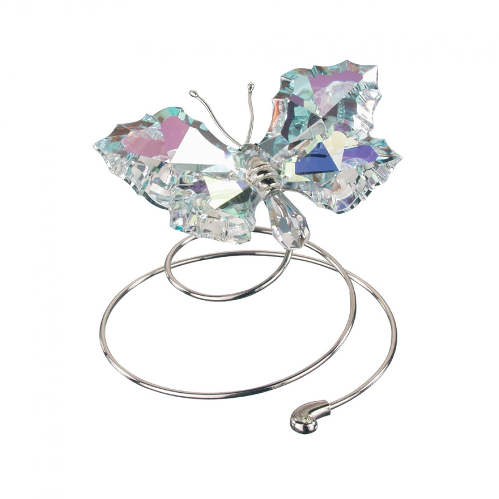 Figurina cristal Preciosa - Flying Butterfly (Light)