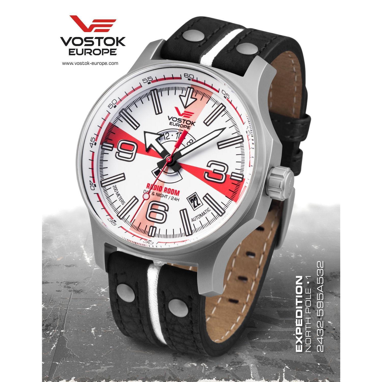 Ceas Vostok Europe Expedition Radio Room Edition 2432/595A532