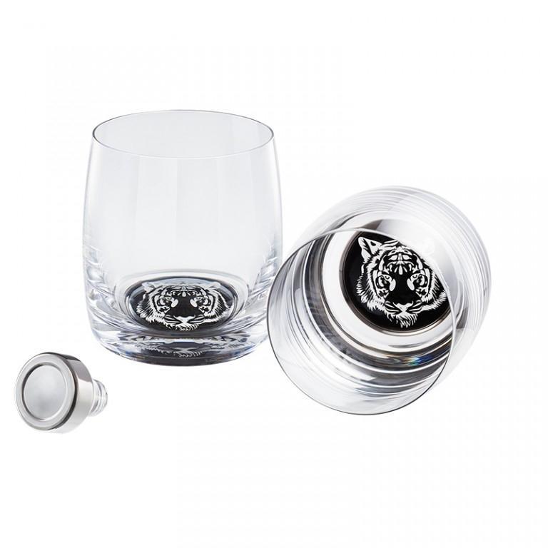 Pahare de cristal Preciosa - Whisky Set (Tiger)