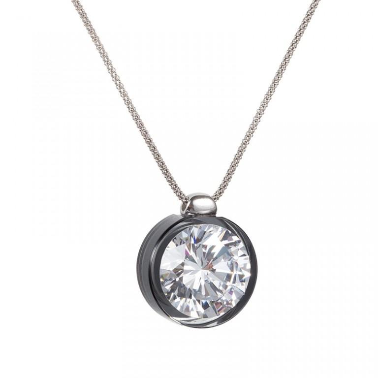 Brillian Star - Colier de argint Preciosa (Chrome)