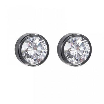 Brillian Star - Cercei de argint Preciosa (Chrome)