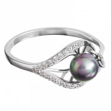Touch of Luxury - Inel de argint Preciosa (Crystal AB)