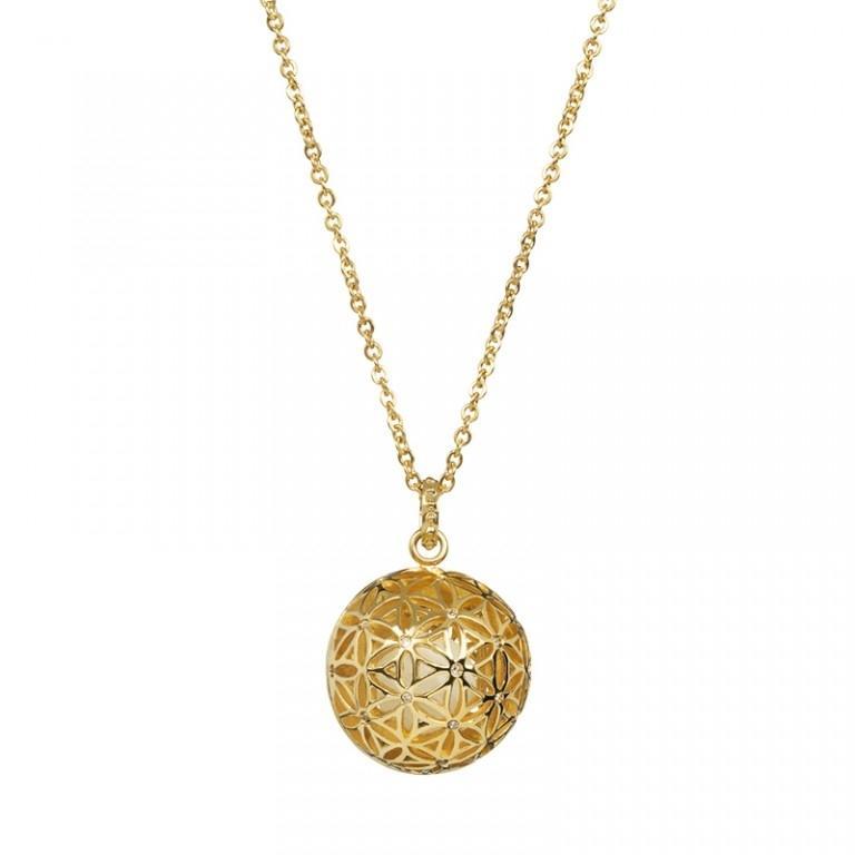 Lotus Pearl - Colier Preciosa (Crystal / White Gold)