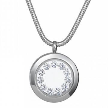 Floral Brilliance - Colier Preciosa (Crystal / White)