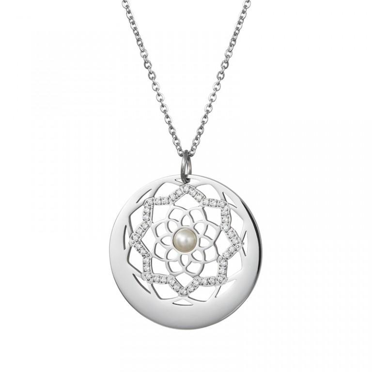 Flower of Love - Colier Preciosa (Crystal / White)