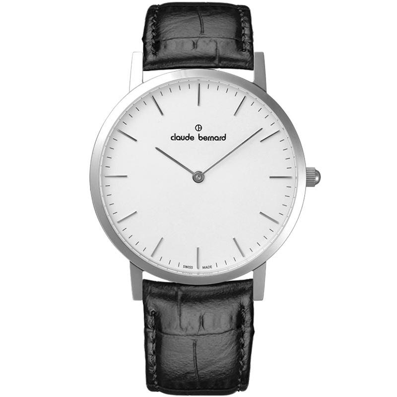 Ceas Claude Bernard Slim Line Two Hands 20202 3 AIN