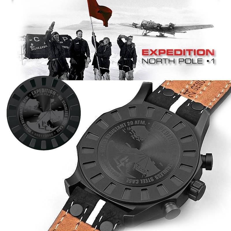 Ceas Vostok Europe Expedition North Pole-1 6S21/5954198