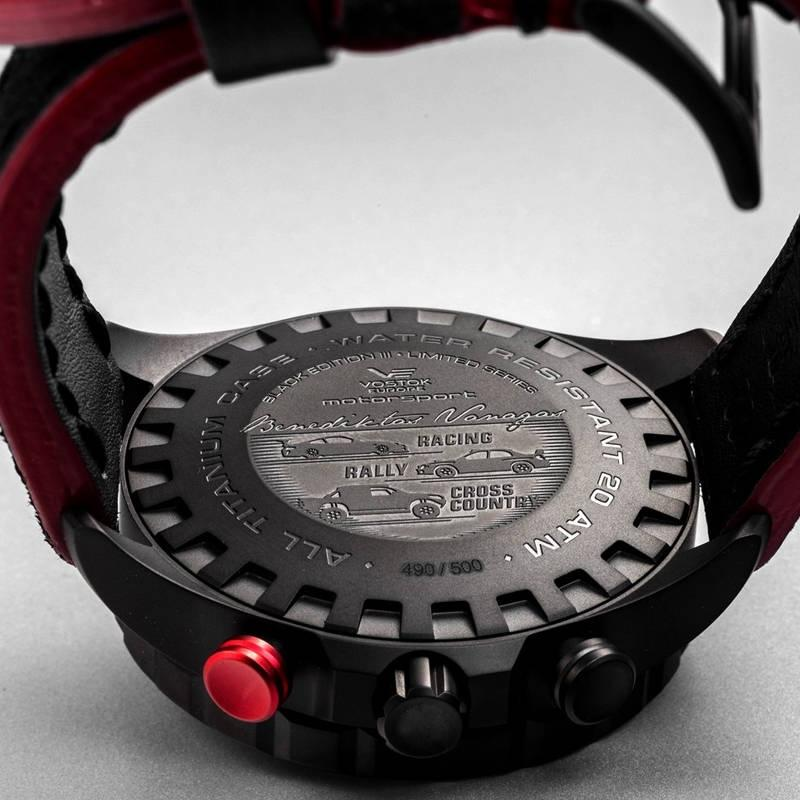 Ceas Vostok Europe Benediktas Vanagas Titanium Special Edition 6S21/320J390