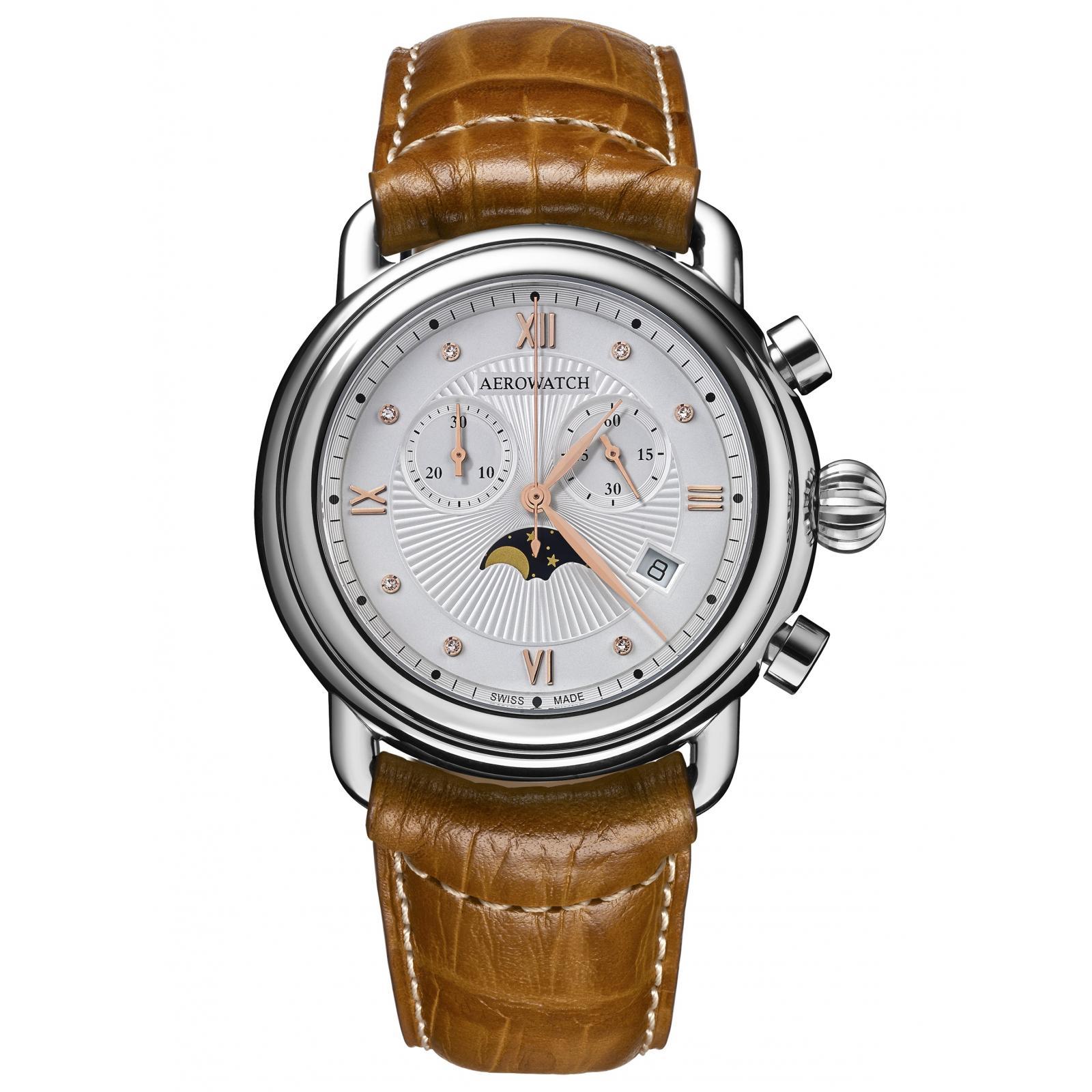 Ceas Aerowatch Chronograph Moon Phase Quartz 84934 AA07