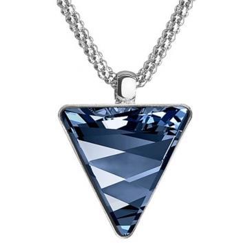 Colier cu cristale Swarovski FaBOS, Denim blue 7430-5302-03