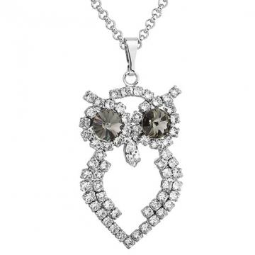 Colier cu cristale Swarovski  FaBOS, Black diamond 7430-5582-03