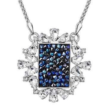 Colier cu cristale Swarovski FaBOS, Bermuda blue 7430-5729-03