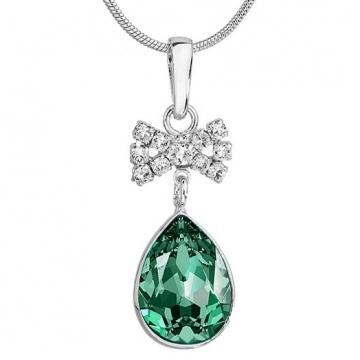 Colier cu cristale Swarovski FaBOS, Emerald 7730-1263-13