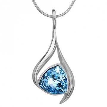 Colier cu cristale Swarovski FaBOS, Aquamarine 7730-1406-03