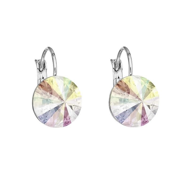 Cercei cu cristale Swarovski FaBOS, Crystal AB 7440-4526-03