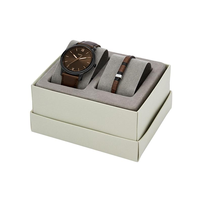 Ceas Fossil The Minimalist set FS5557SET