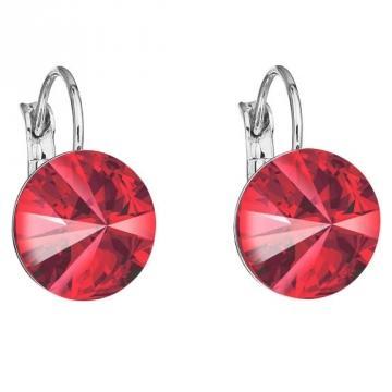 Cercei cu cristale Swarovski FaBOS, Light Siam 7440-4526-15