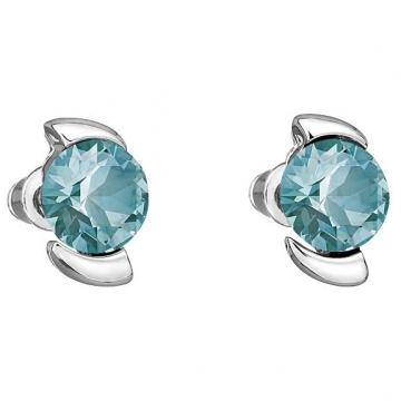 Cercei cu cristale Swarovski FaBOS, Light Turquoise 7740-1130-14