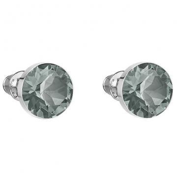 Cercei cu cristale Swarovski FaBOS, Black Diamond 7440-4537-27