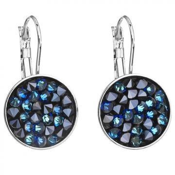 Cercei cu cristale Swarovski FaBOS, Bermuda blue 7440-5254-05